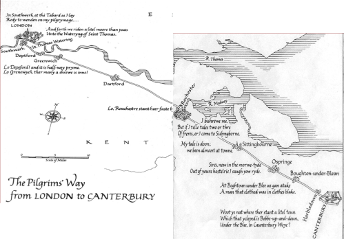 Canterbury Map